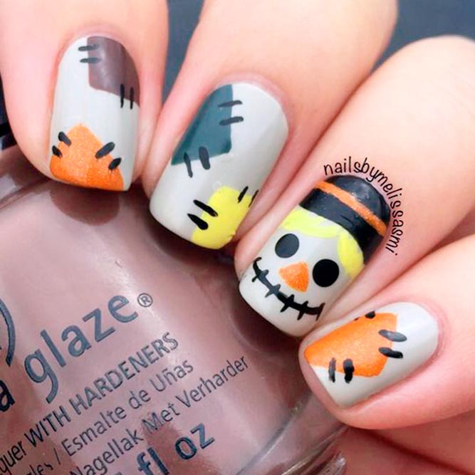 33 perfectly fun halloween nail designs naildesignsjournal stylish and fun halloween nail designs picture 1 prinsesfo Gallery