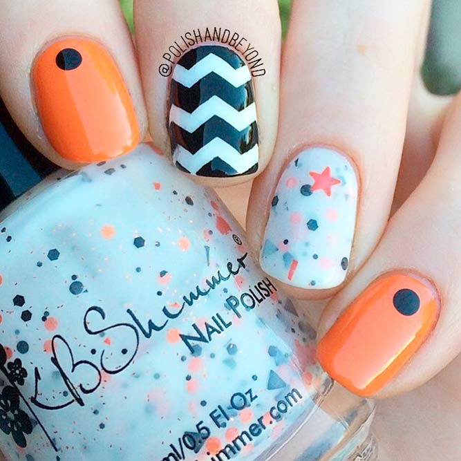 easy halloween nail designs picture 1
