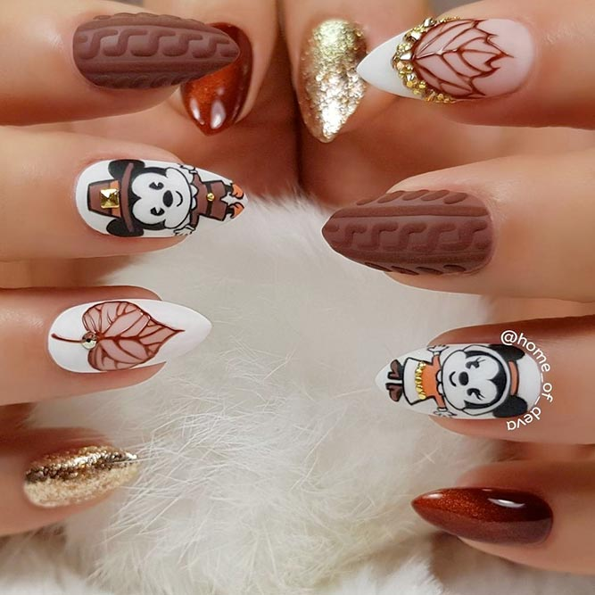 Amazing Thanksgiving Nail Designs picture 3