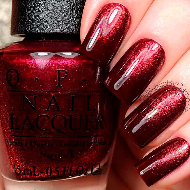 Nail Colors Burgundy: 21 Gorgeous Fall Color Nails Designs