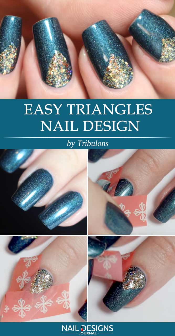 Easy Nail Design Without Any Specific Tools