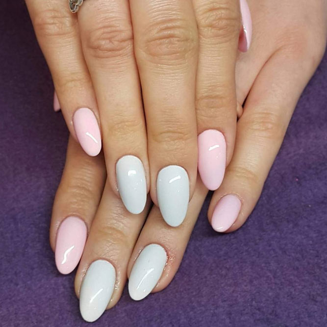 Simple Nail Designs in Pastel Shades picture 2