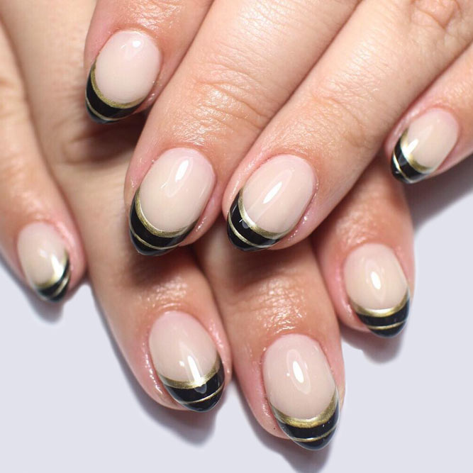 Lovely Nails with French Tips picture 1