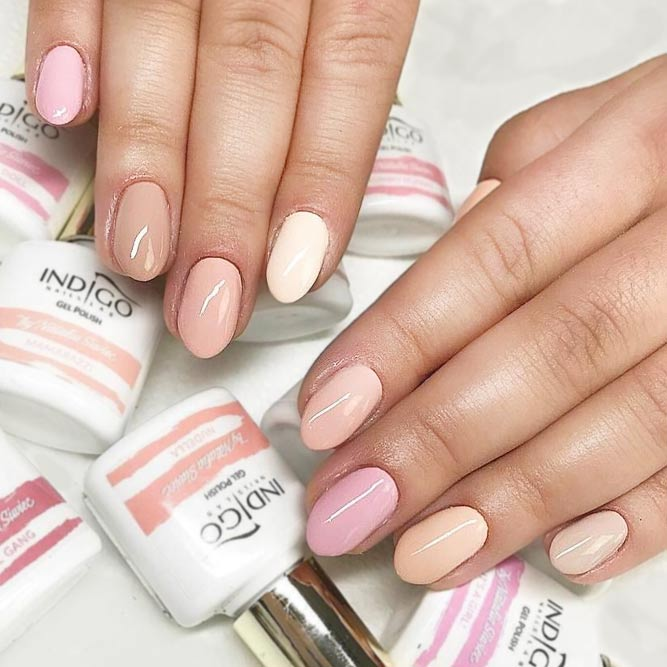 Simple Nail Designs in Pastel Shades picture 3