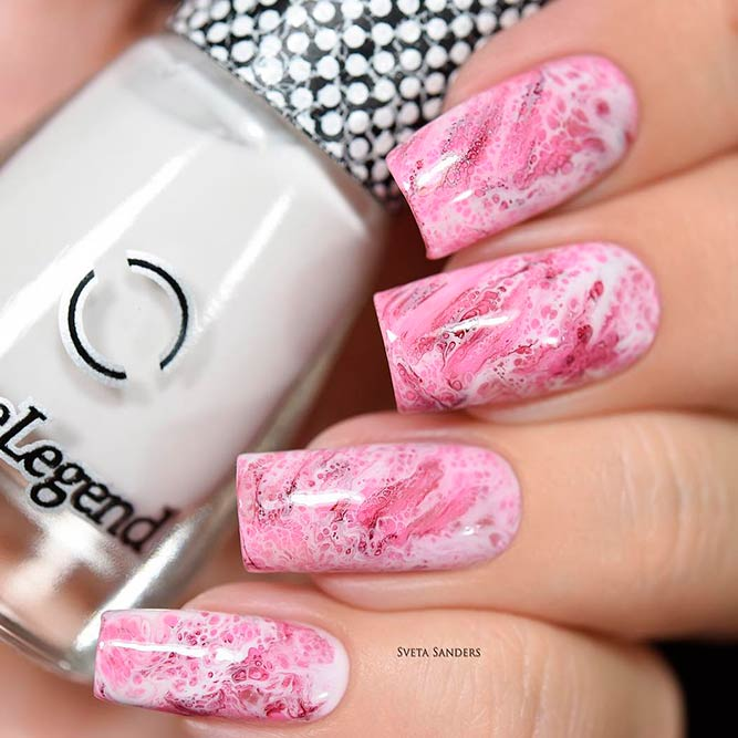 Elegant Nails with Marble Designs picture 2