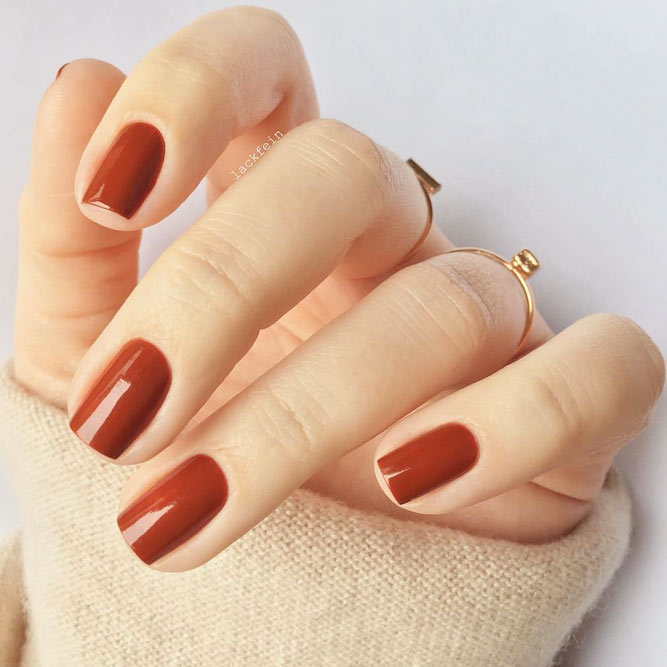 Autumn Maple Is the Most Distinctive Among Fall Nail Colors picture 1