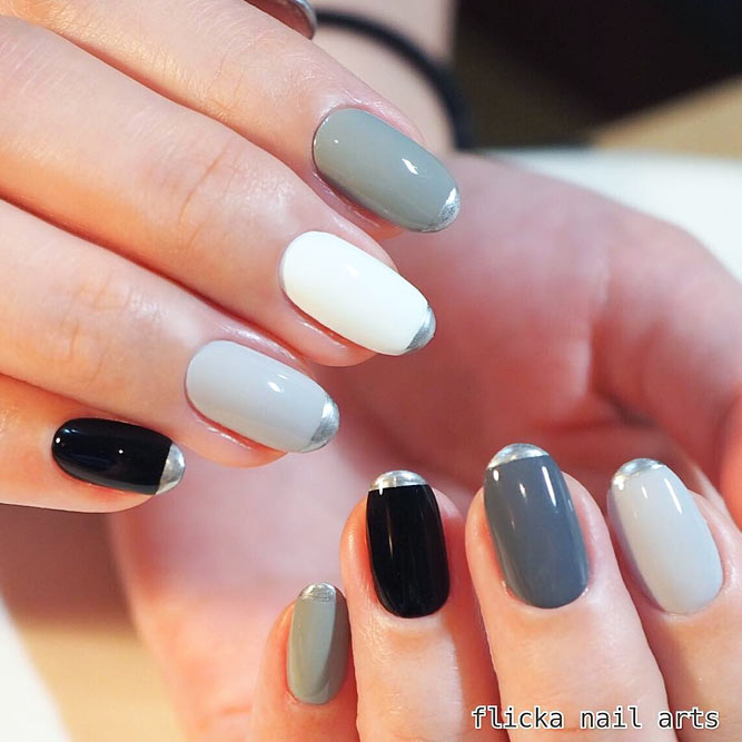 Strict Monochromatic Nail Designs picture 1