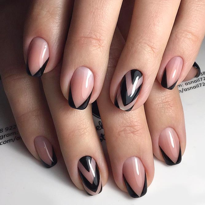 21 Cute French Tips Upgrades To Consider Naildesignsjournal