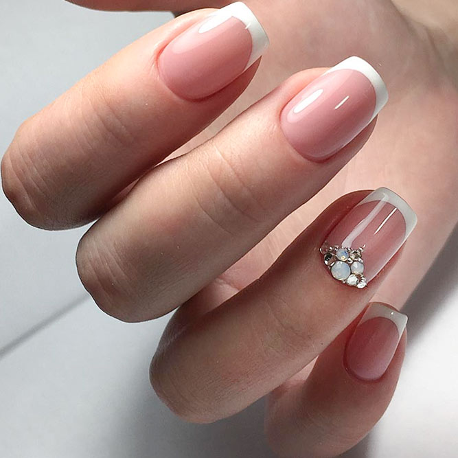 Proven Classics French Nails and Rhinestones picture 3