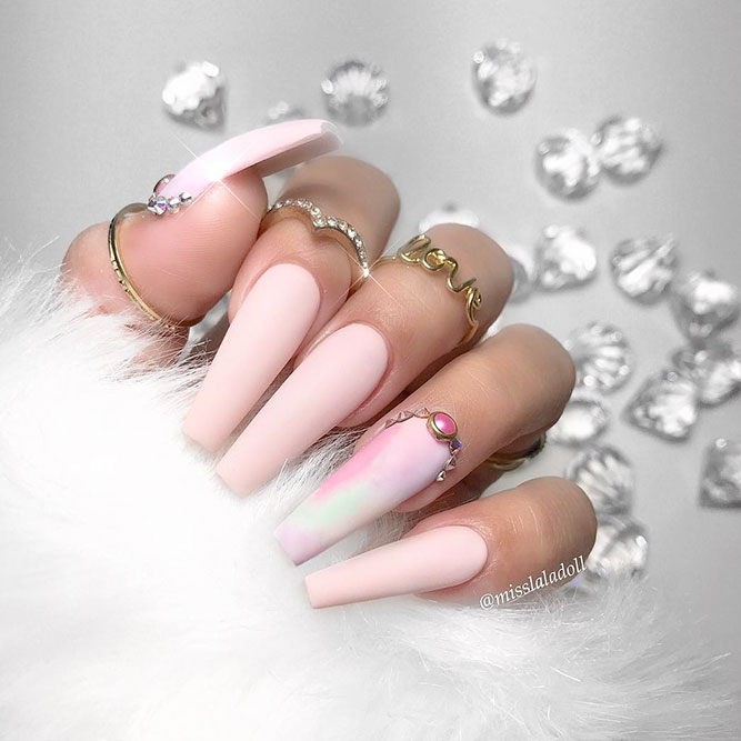 The Best Ideas for Long Pink Nails picture 3