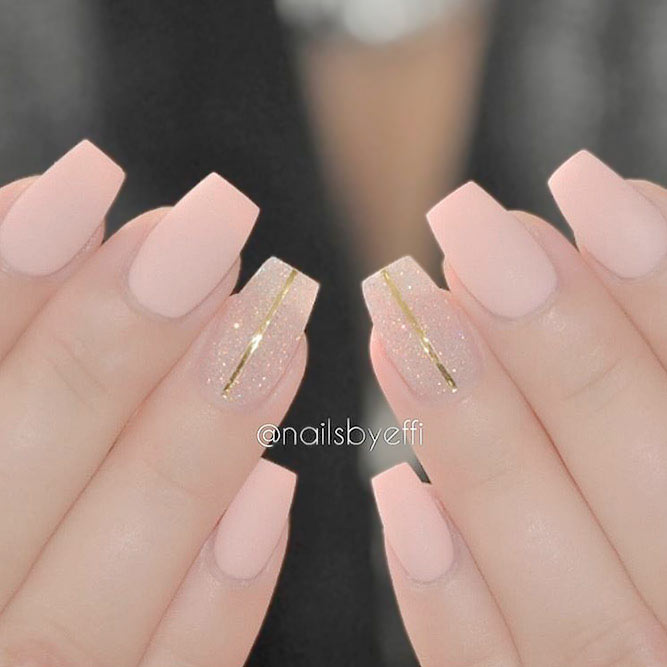 Sweet and Cute Pink Nail Polish picture 3 - 21 Outstanding Matte Pink Nails Designs NailDesignsJournal