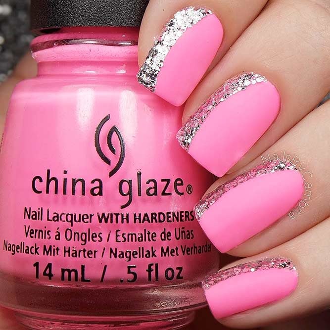 Stylish Matte Pink Nails You Will Love picture 1