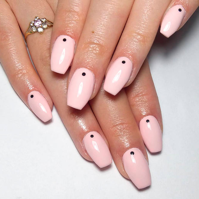 Pink Nails So Girly and Sweet picture 1