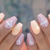 35 outstanding short coffin nails design ideas