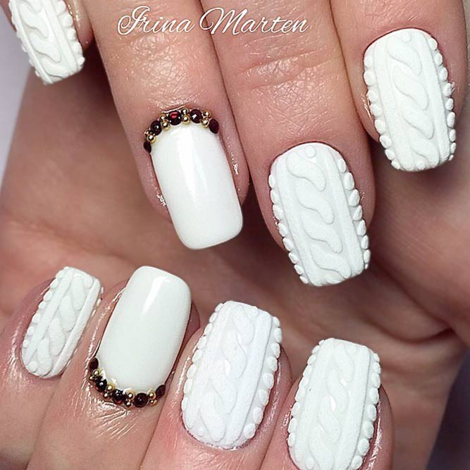 «Warm» Nail Designs picture 3