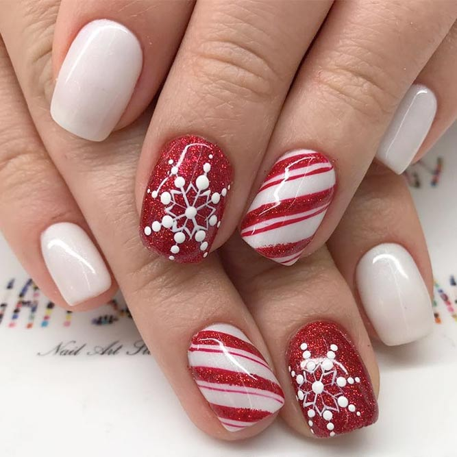 21 Winter Nail Designs To Warm You Up