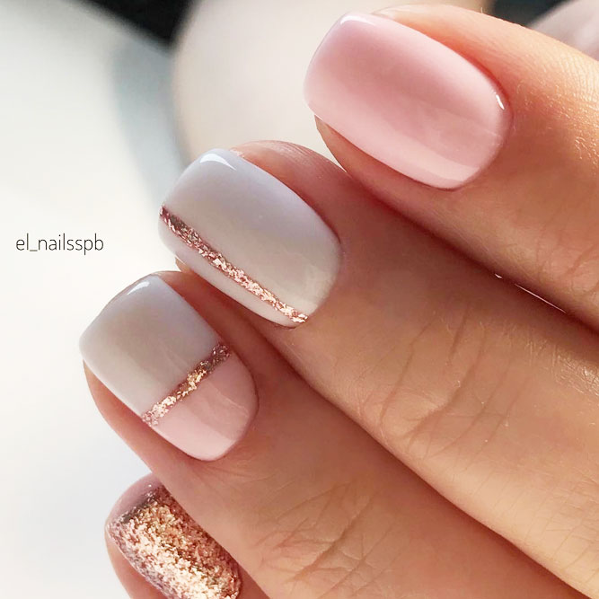 Winter Nail Designs With Thin Lines picture 1