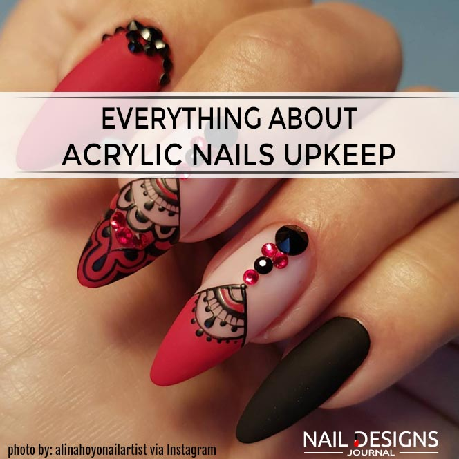 Everything about Acrylic Nails Upkeep