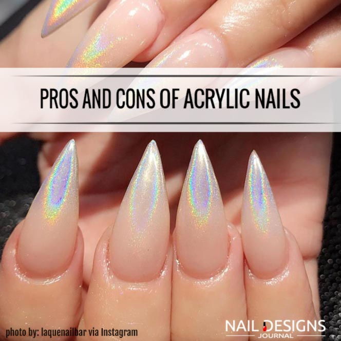 Pros And Cons of Acrylic Nails