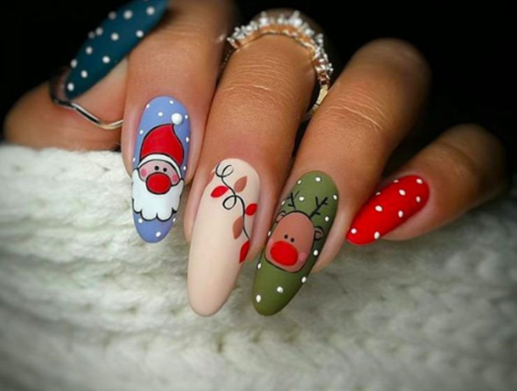 Charming Christmas Nail Art Ideas You'll Adore