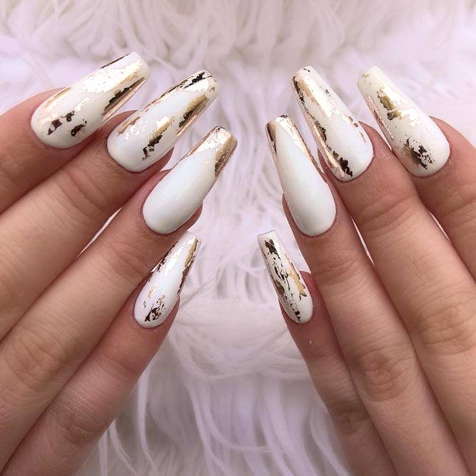 30 Coffin Nail Designs You Ll Want To Wear Right Now