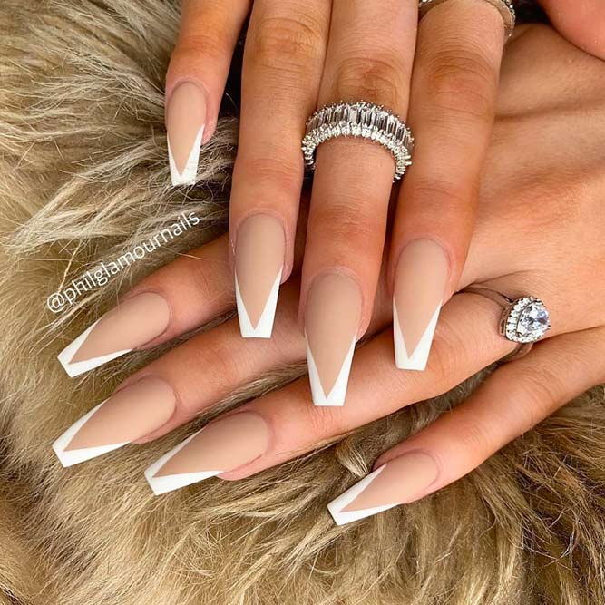 30 Coffin Nail Designs You\u0027ll Want to Wear Right Now