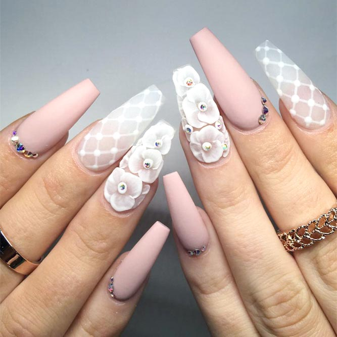 27 coffin nail designs youll want to wear right now translucent coffin nail design picture 3 prinsesfo Image collections