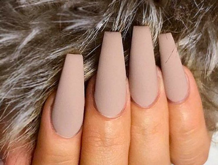 Coffin Nail Designs You'll Want To Wear Right Now