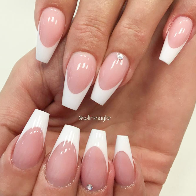 White French Tip Nail Designs | Graham Reid