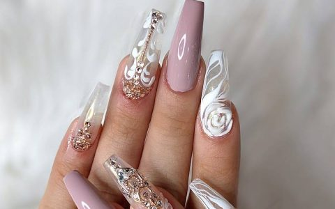 Coffin Nail Designs You Will Want to Wear Right Now
