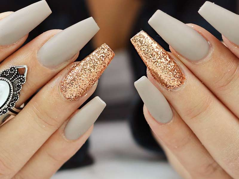 - 30 Coffin Nail Designs You'll Want To Wear Right Now
