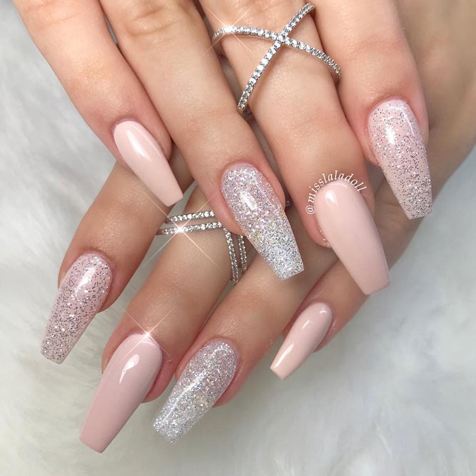 30 Coffin Nail Designs Youll Want To Wear Right Now