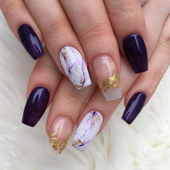 Long Nail Art Designs