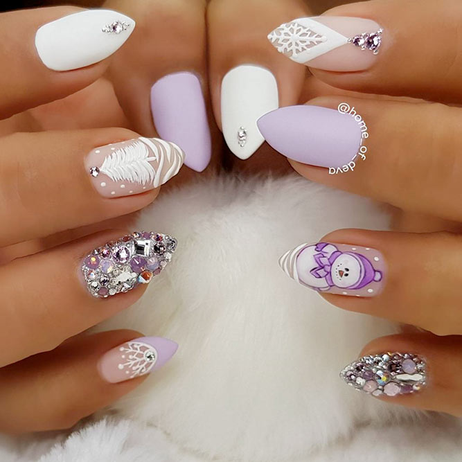 Snow Friend for Holiday Nail Art picture 2