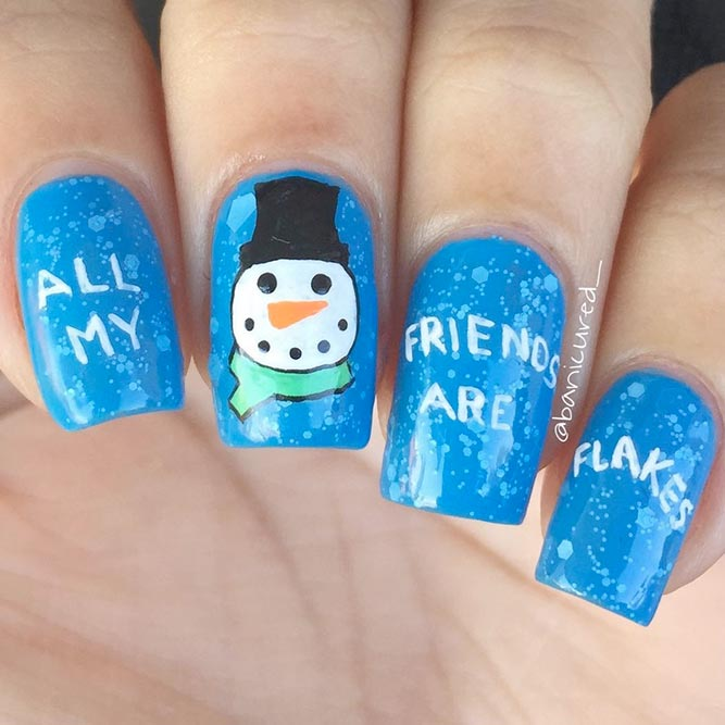21 Lovely Holiday Nails Designs to Get You in the Spirit ...