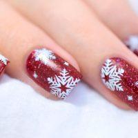 easy tutorials on snowflake nails art  naildesignsjournal