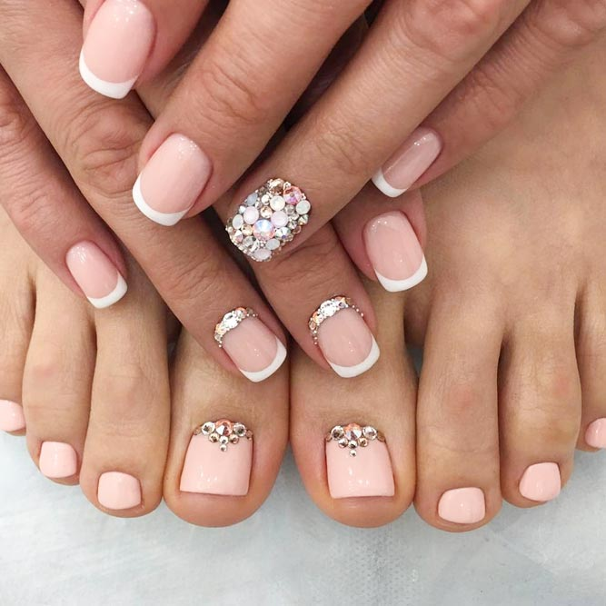Over 50 Fun Toe Nail Designs To Go Crazy Over | NailDesignsJournal.com