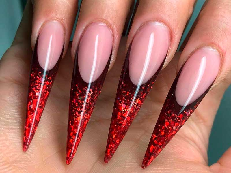 Trendy Designs and Shapes For Acrylic Nails in 2017 | NailDesignsJournal