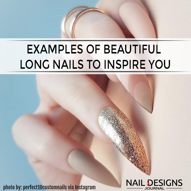 The Best Long Nails Shapes To Consider Today | NailDesignsJournal