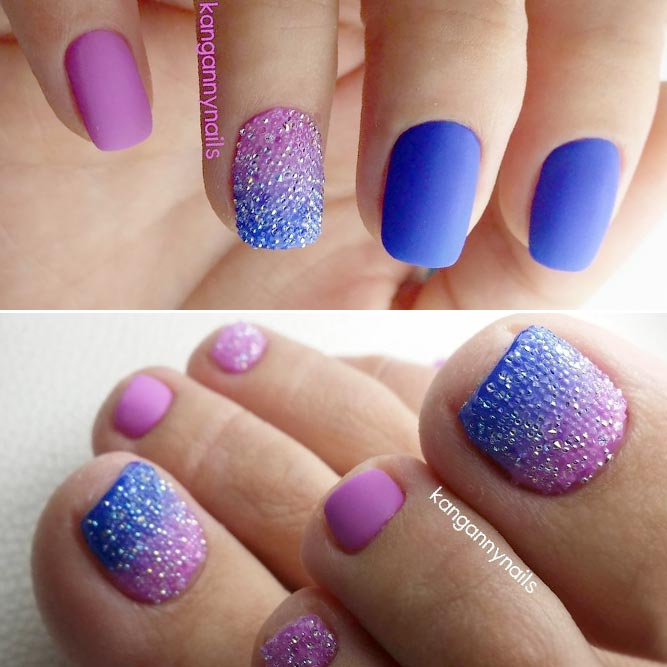 Ombre Manicure And Pedicure Designs picture 1