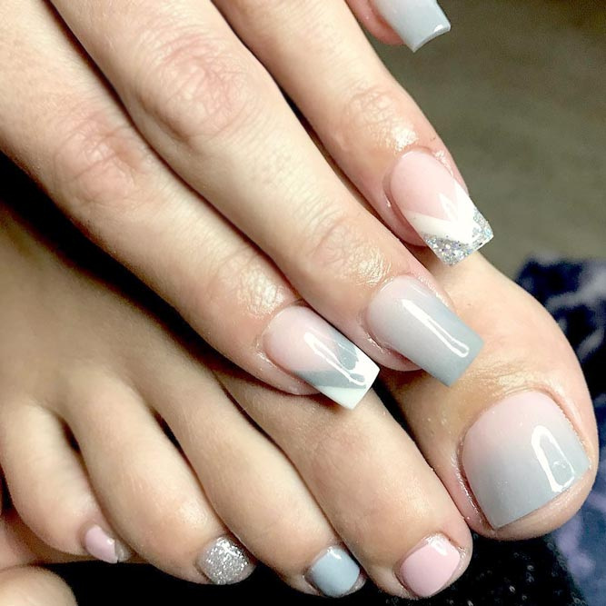Ombre Manicure And Pedicure Designs picture 2