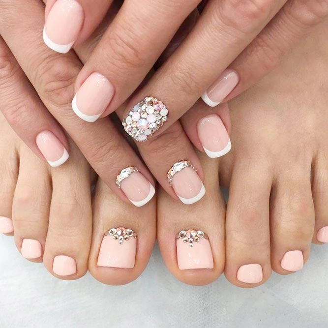 Elegant Nude Manicure and Pedicure picture 3