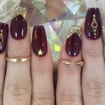 Fashionable Maroon Nails Designs to Complete Your Image