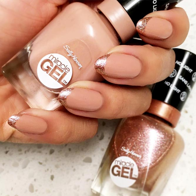 Nude Nails With Sally Hansen Totem-ly Yours