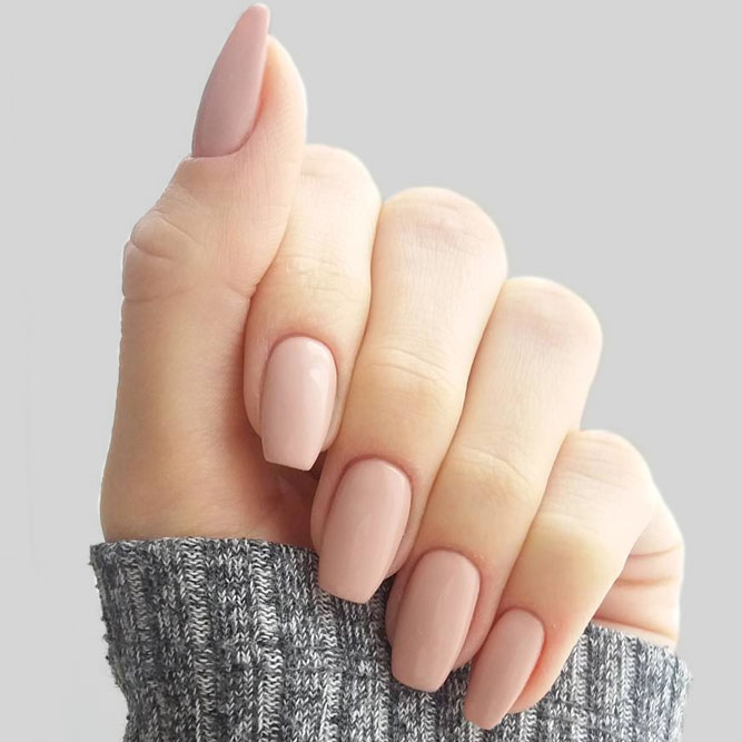 Nude Nails for Light Skin picture 2