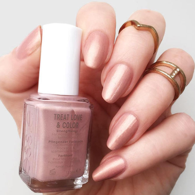 Nude Nail Colors for Ladies with Medium Skin Tone picture 1