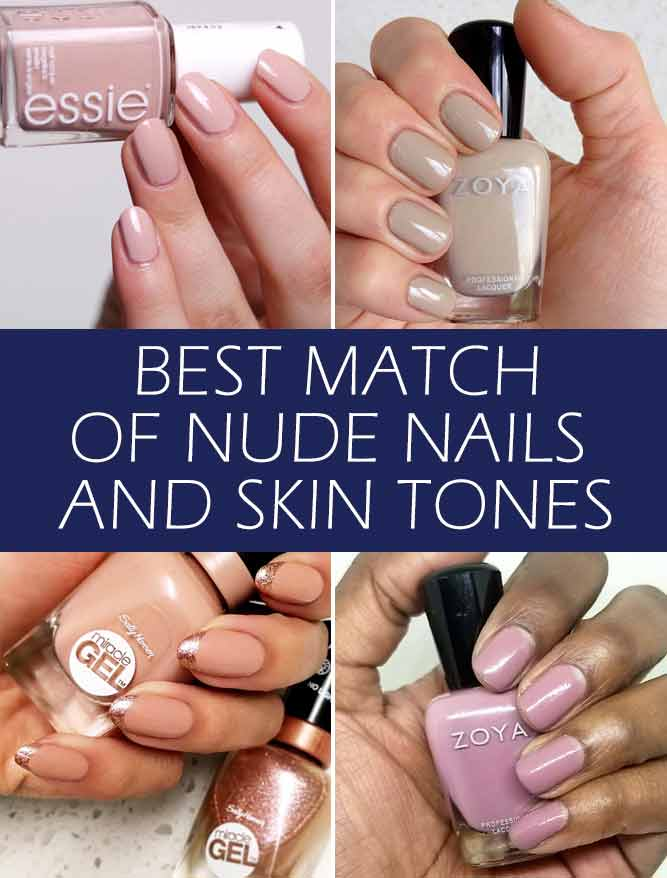 Nude Nails Perfect Shades For Your Skin Tone