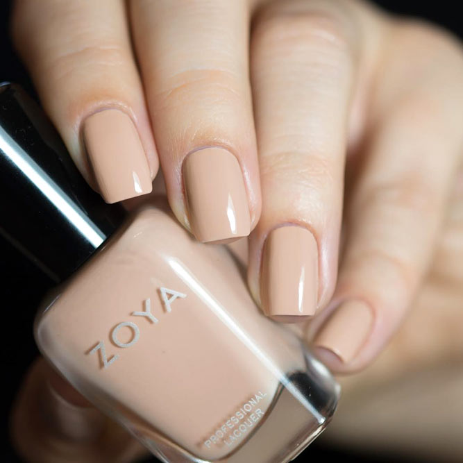 Zoya Tatum Polish Color For Fair Skin Tone