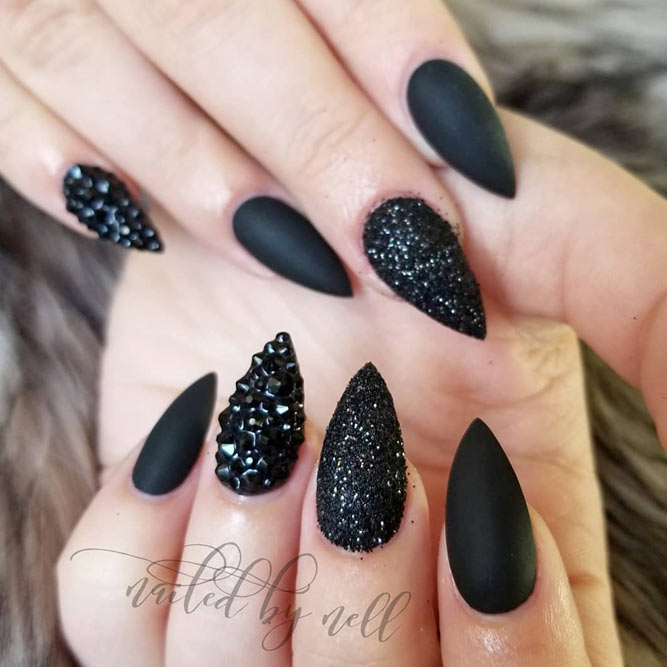 Pointed Nails Images | Best Nail Designs 2018
