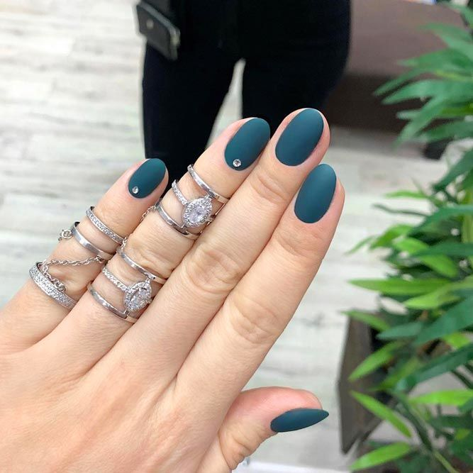 Elegant Turquoise Color With Matte Effect
